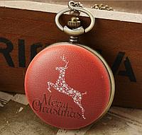 Мужские часы карманные на цепочке С Новым Годом