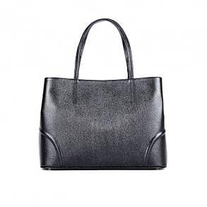 Женская сумка ASSA 1088б кожаная с тиснением под рептилию, фото 2