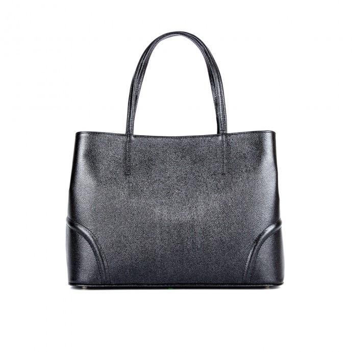 Жіноча сумка ASSA 1088б шкіряна з тисненням під рептилію