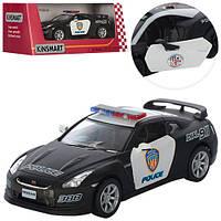 Машинка KT5340WP Nissan GT-R (Police)