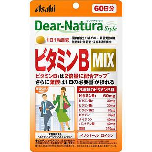 Asahi Dear Natura витамины группы B + Лейцин 60 таб на 60 дней