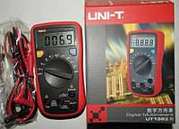 Измерение частоты/скважности мультиметром UT136c Измерение температуры цифровым мультиметром UT136c Мультиметр