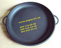 Сковорода жаровня чугунная 450 мм. печи, мангал, барбекю