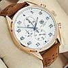 Часы мужские наручные Tag Heuer Carrera 1887 SpaceX Quartz Gold/White