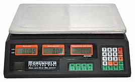 Вага торгова Grunhelm GSC-051 50кг Чорний