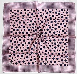 Платок Eyfel Амалия розовый в синий горошек 208-9
