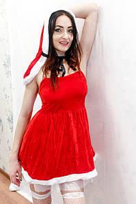 """Ролевой костюм, Игровой костюм """"Мисис Клаус"""" 3860"""