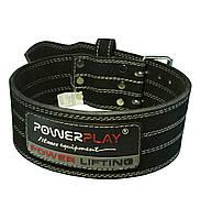 Пояс для пауерліфтингу PowerPlay 5150 Чорний L, фото 1