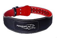 Пояс для важкої атлетики PowerPlay 5085 Чорно-Червоний M, фото 1