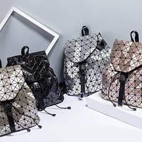 Женский рюкзак геометрический Бао Бао Хамелеон, Bao Bao Issey Miyake