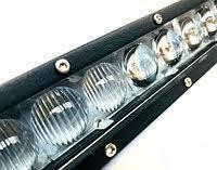 Светодиодная балка 120W (5-Д ЛИНЗА) Светодиодная led панель 120 Вт дальний свет лед балка Узкая