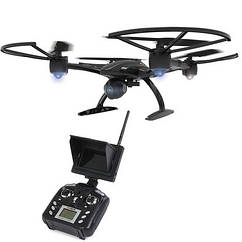 Квадрокоптер JXD 509G 316мм FPV монитор 4.3 черный (JXD 509G Black)