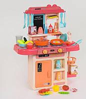 Детская кухня розовая