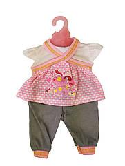 Кукольный наряд DBJ-445A-456-4(Розовая собачка)