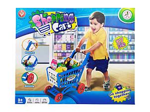 Тележка 922-11(Blue) Синий с продуктами