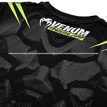 Футболка Venum Training Camp 2.0 T-shirt Black Neo Yellow, фото 3
