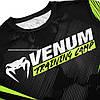 Футболка Venum Training Camp 2.0 T-shirt Black Neo Yellow, фото 2