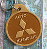 Брелок из кожи Мицубиси Mitsubishi Auto