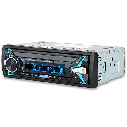 Автомагнитола Lesko 4785 1 DIN Bluetooth SD карта USB AUX (3350-9818), фото 2