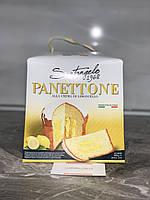 Кекс Panettone Santangelo alla crema di limoncello с лимонным кремом 908 грм