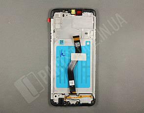 Дисплей Samsung А207 Black А20S 2019 (GH81-17774A) сервисный оригинал в сборе с рамкой, фото 2