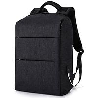 Рюкзак городской водонепроницаемый антивор ручной работы Nomad черный ROOTLESS