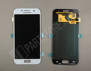 Дисплей Samsung а320 blue а3 2017 (GH97-19732C) сервисный оригинал, фото 2