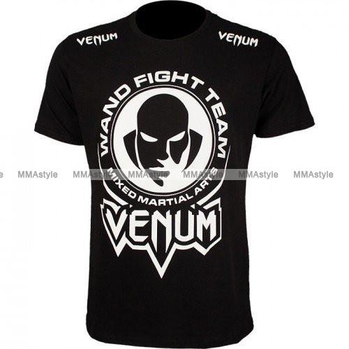 Футболка Venum Wand Fight Team T-Shirt Black