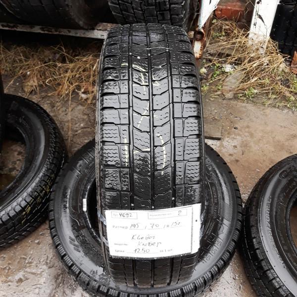Бусовские шины б.у. / резина бу 195.70.r15с Kleber Transalp 2 Клебер