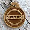 Брелок из кожи Ниссан NISSAN Auto