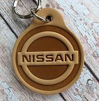 Брелок зі шкіри Ніссан NISSAN Auto, фото 1