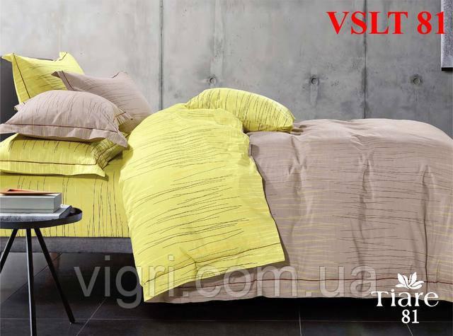 Постельное белье евро, сатин люкс Tiare Вилюта. VSLT Т81