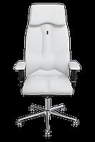 Эргономичное кресло KULIK SYSTEM BUSINESS Белое (603)
