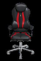 Эргономичное кресло KULIK SYSTEM GRAND Черное с красным (402)