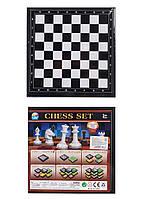 "Шахматы  ""3в1"", шашки, нарды, в кор. 20*20*3см /96-2/ (477L-1M)"