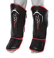 Захист гомілки і стопи  PowerPlay 3052 Чорно-Червоний M, фото 1