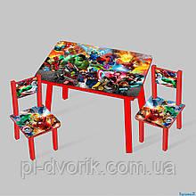 """Столик""""  (1) 60*46 см. /столик + 2 стула/"""