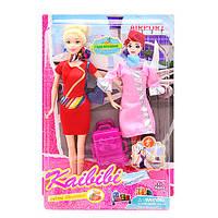 Кукла-стюардесса с платьем и аксессуарами Каibibi BLD127