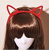 Привлекательные ушки кошки Красные, фото 2