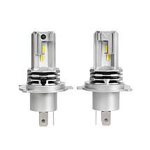 Светодиодная лампа цоколь H4, M4, CREE GSP 6500К, 3200 lm 25W, 9-36В, фото 2