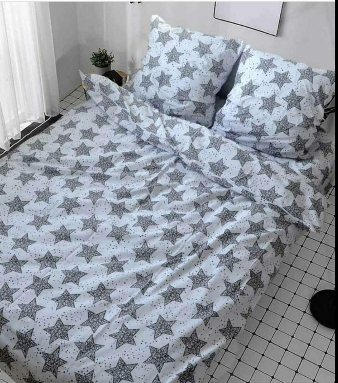 Постельное белье 1.5 спальное Звезды днем