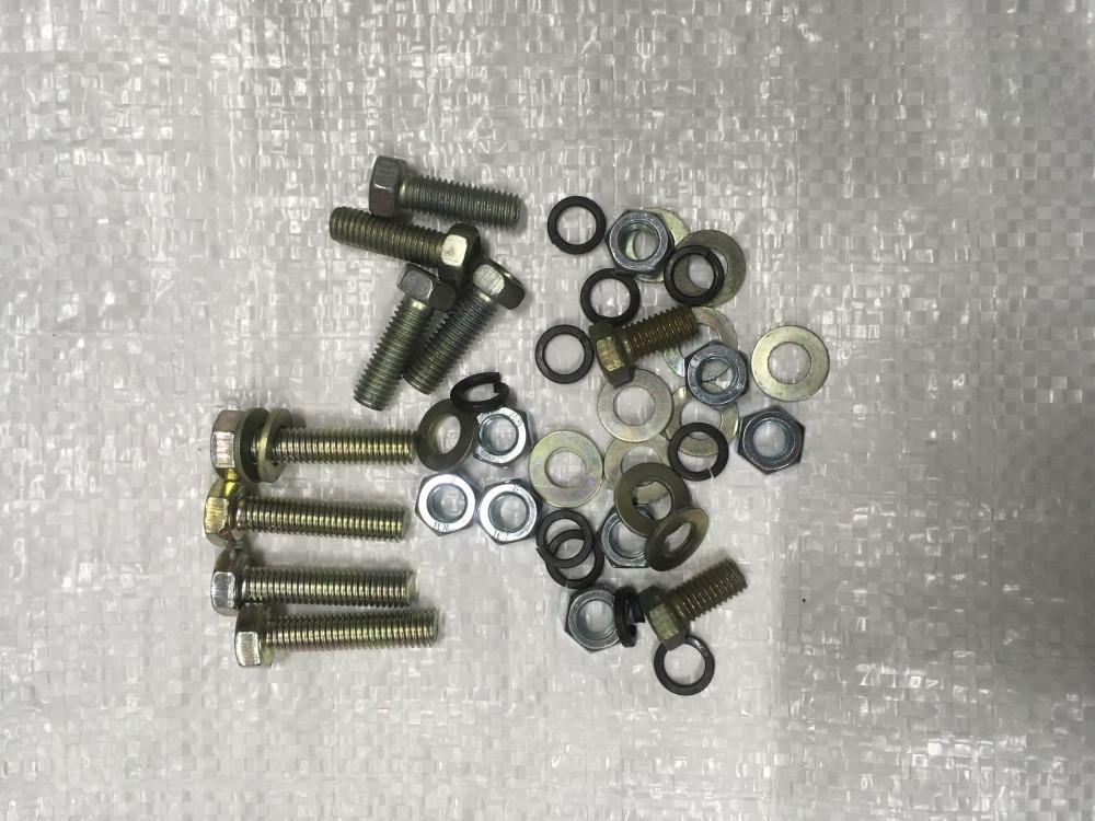 Нева,МБ,Каскад мотоблок Набор болтов гаек для крепления переходной плиты и китайского двигателя.