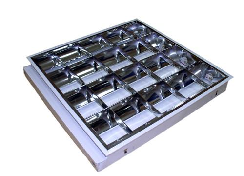 Светильник растровый ЛВО 13у-4х18-001 встраиваемый (электромагнитный)