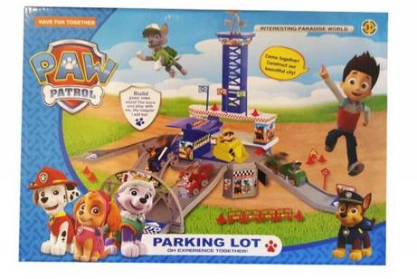 Детская игра парковка