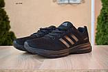 Чоловічі кросівки в стилі Adidas чорні велетні, фото 5