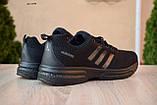 Чоловічі кросівки в стилі Adidas чорні велетні, фото 6