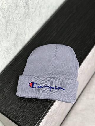 Шапка в стиле Champion зимняя / демисезонная, фото 2