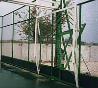 Ворота для минифутбола или гандбола 3000х2000 стальные, вертикально-подъемные