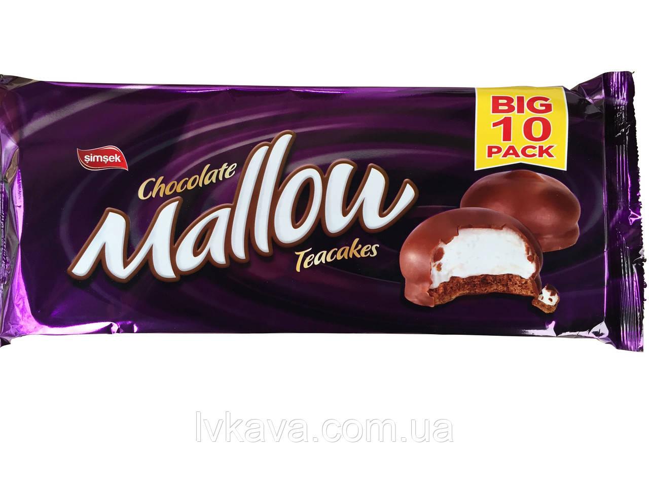 Печенье с маршмеллоу ванильное Mallow  Simsek, 125 гр
