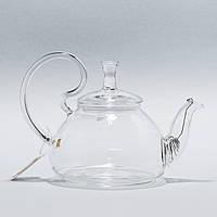 """Стеклянный заварник для чая """"Идеальный незнакомец"""" Chikao 600 мл"""